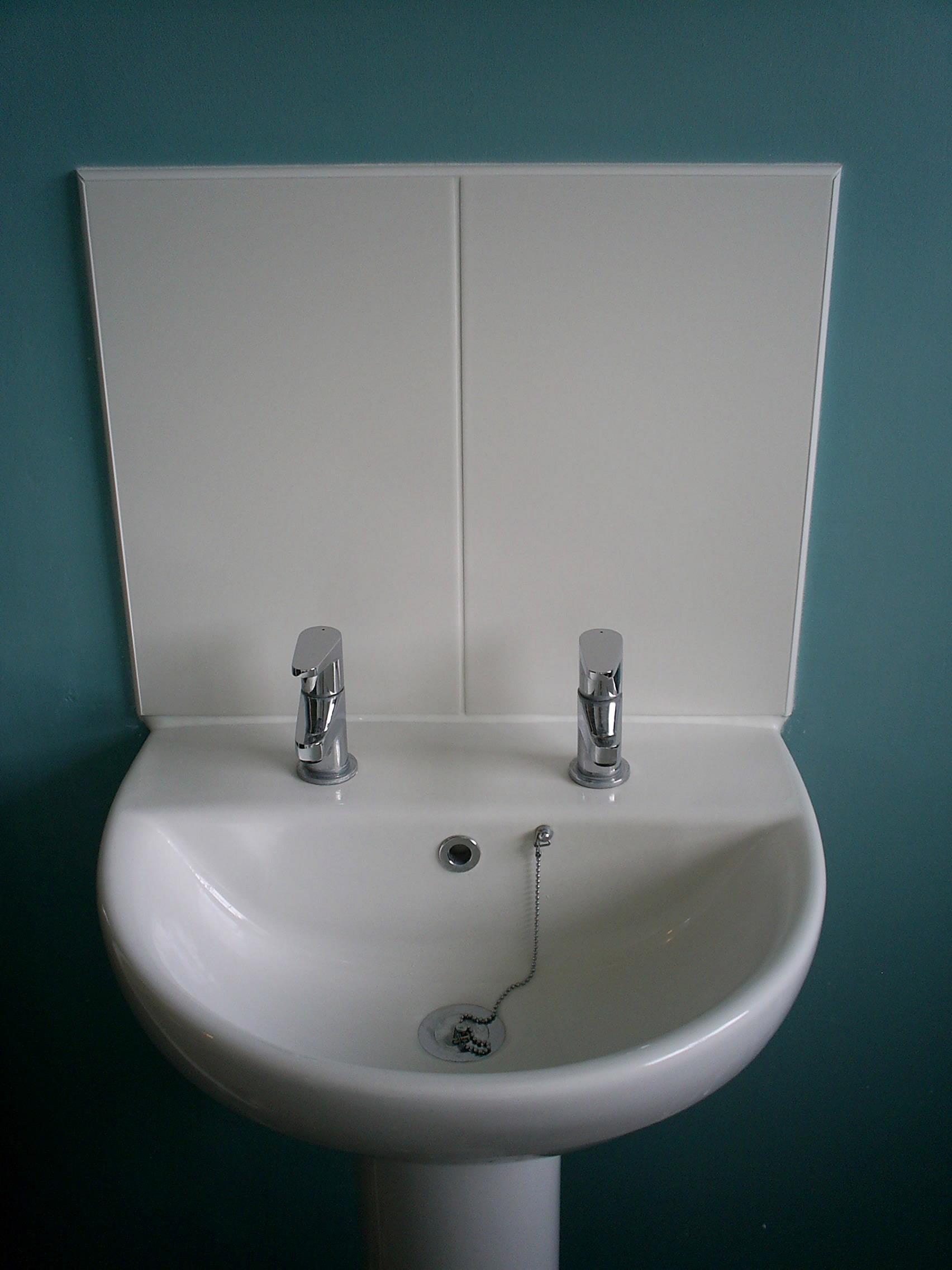 Splashback For Bathroom Sink